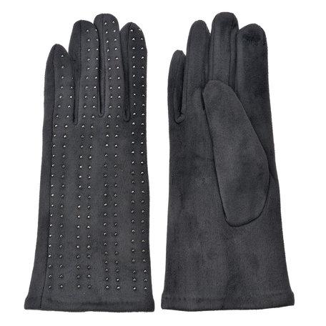 Handschoenen 8*24 cm Grijs | MLGL0038G | Clayre & Eef