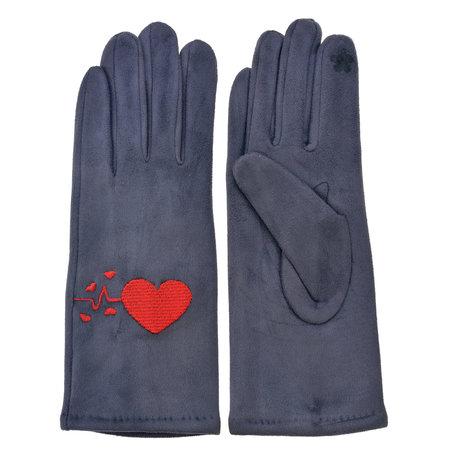 Handschoenen 8*24 cm Grijs | MLGL0039 | Clayre & Eef
