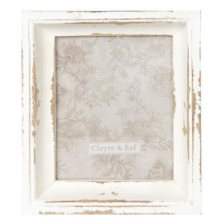 Fotolijst 28*4*32 cm / 25*30 cm Grijs | 2F0573 | Clayre & Eef