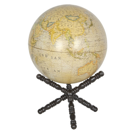 Wereldbol/globe 30*30*50 cm Meerkleurig | 64119 | Clayre & Eef