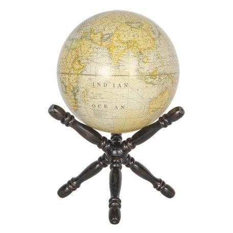 Wereldbol/globe 20*20*40 cm Meerkleurig | 64120 | Clayre & Eef