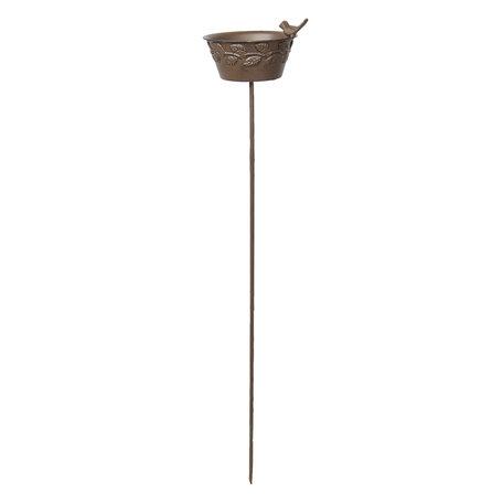 Vogelvoederbak 20*16*94 cm Bruin | 5Y0577 | Clayre & Eef