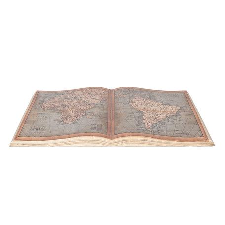 Decoratie boek 65*40 cm Meerkleurig | 6PA0494 | Clayre & Eef