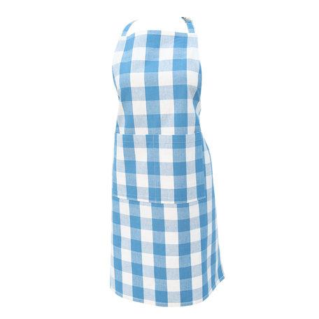 Keukenschort 70*85 cm Blauw | CFA41BL | Clayre & Eef