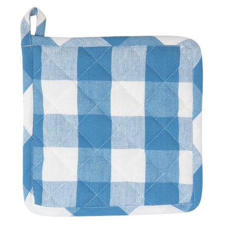 Pannenlap 20*20 cm Blauw | CFA45BL | Clayre & Eef