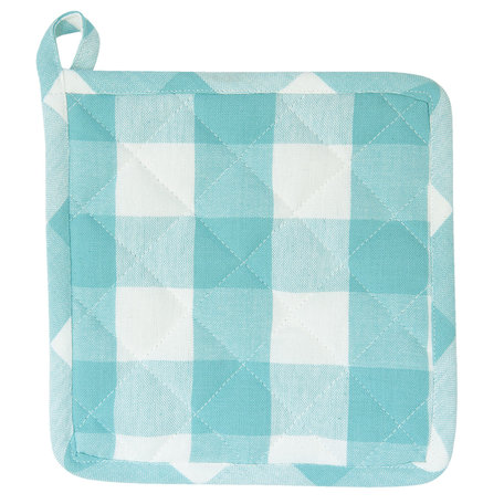 Pannenlap 20*20 cm Turquoise | CFA45T | Clayre & Eef