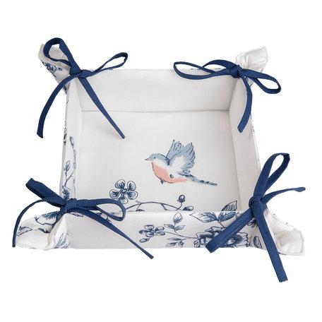 Broodmandje 35*35*8 cm Blauw | EBI47 | Clayre & Eef