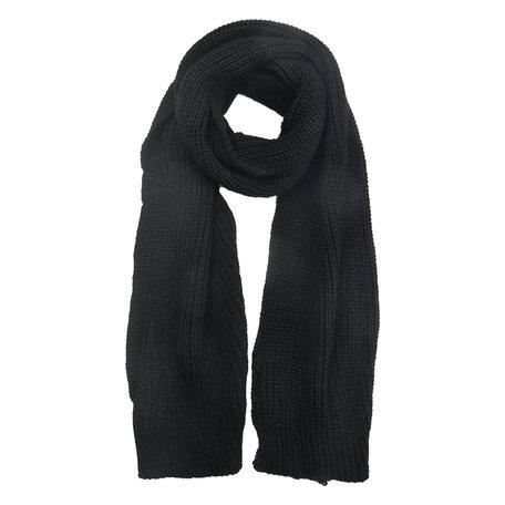 Sjaal 28*200 cm Zwart   MLSC0351Z   Clayre & Eef