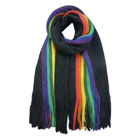 Sjaal 50*180 cm Grijs | MLSC0369G | Clayre & Eef