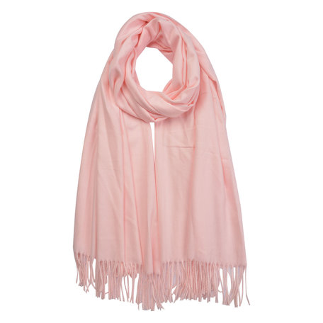 Sjaal 70*180 cm Roze   MLSC0378P   Clayre & Eef