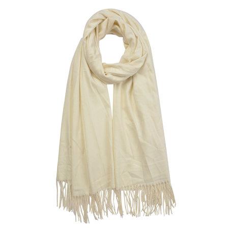 Sjaal 70*180 cm Wit   MLSC0378W   Clayre & Eef
