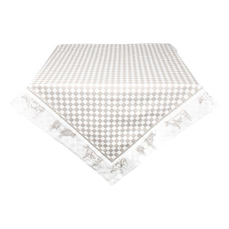 Tafelkleed 150*250 cm Natuur | LWC05N | Clayre & Eef