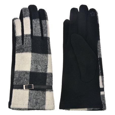 Handschoenen 8*24 cm Meerkleurig | MLGL0010 | Clayre & Eef