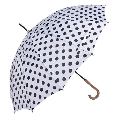 Paraplu ø 93*90 cm Wit | MLUM0025W | Clayre & Eef