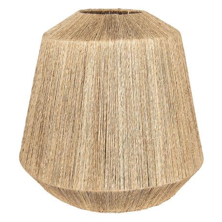 Lampenkap ø 20/57*53 cm Creme | 6RO0430 | Clayre & Eef