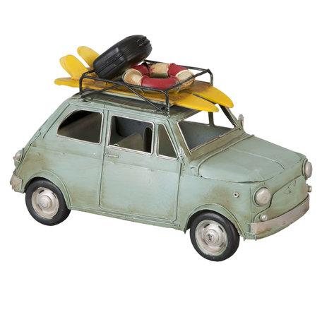 Model auto 25*11*16 cm Blauw | 6Y1096 | Clayre & Eef