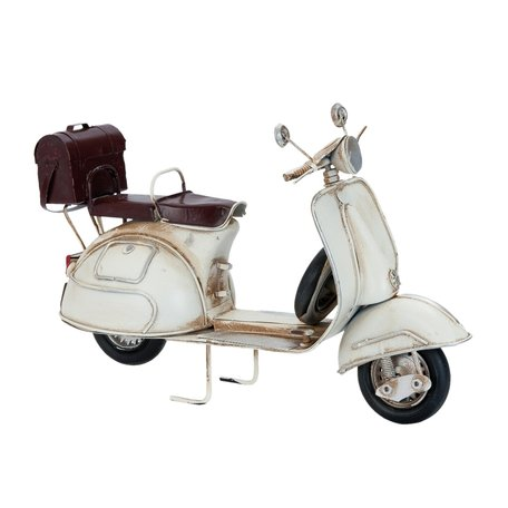 Model scooter 26*10*17 cm Wit | 6Y1625 | Clayre & Eef