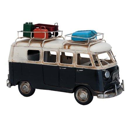 Model bus 27*10*17 cm Zwart | 6Y1634 | Clayre & Eef
