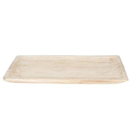 Dienblad 51*32*4 cm Creme | 6H1759 | Clayre & Eef