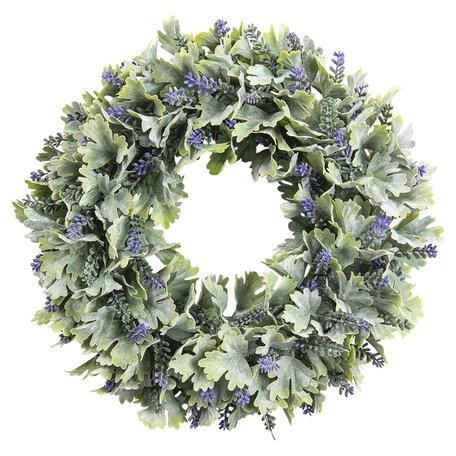 Decoratie krans lavendel 29 cm Multi | 6PL0205 | Clayre & Eef