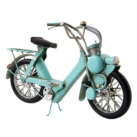 Model solex 27*9*17 cm Blauw | 6Y2455 | Clayre & Eef