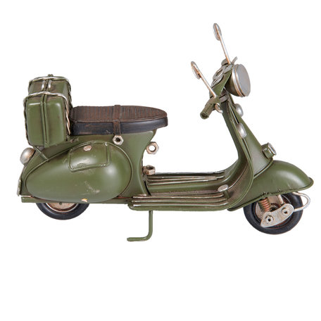 Model scooter 17*7*12 cm Groen | 6Y2539 | Clayre & Eef