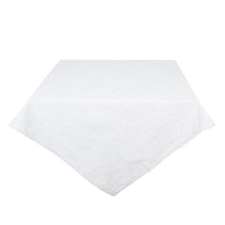 Tafelkleed 100*100 cm Wit | KT001.003G | Clayre & Eef