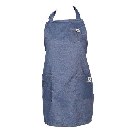 Keukenschort 70*65 cm Blauw | KT041.027 | Clayre & Eef