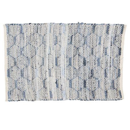 Tapijt 60*90 cm Blauw | KT080.033 | Clayre & Eef
