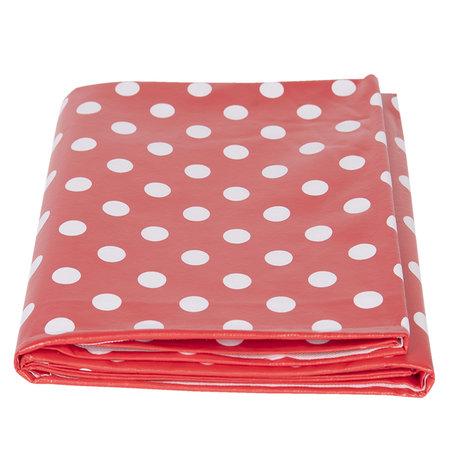 PVC Tafelkleed 137*180 cm Rood | PVC0002 | Clayre & Eef