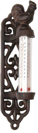 Thermometer 8*5*20 cm Bruin | 6Y0148 | Clayre & Eef