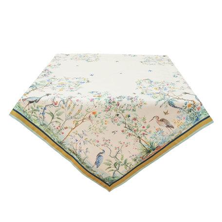Tafelkleed 100*100 cm Meerkleurig | BIP01 | Clayre & Eef