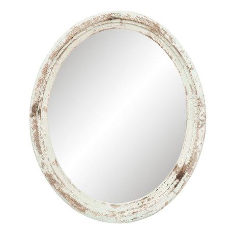 Spiegel 54*4*66 cm Wit | 52S120 | Clayre & Eef