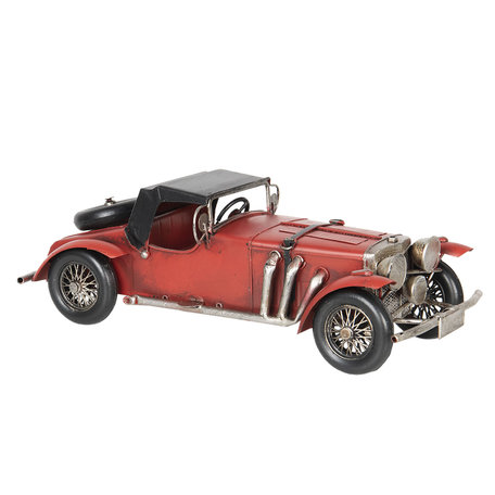 Model auto 35*14*12 cm Rood | 6Y2968 | Clayre & Eef
