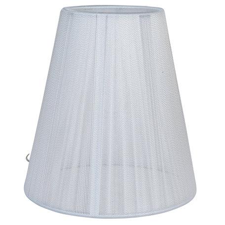 Lampenkap ø 14*15 cm / E14 Wit | 6LAK0362W | Clayre & Eef
