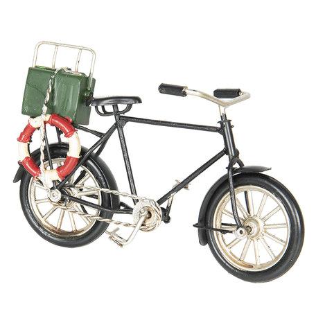 Model fiets 16*6*10 cm Multi   6Y2965   Clayre & Eef