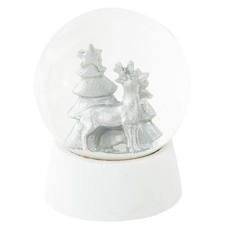 Sneeuwbol ø 8*11 cm Wit | 64253 | Clayre & Eef
