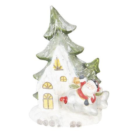 Decoratie kerstman 49*20*55 cm Multi | 6CE0994 | Clayre & Eef