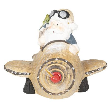 Decoratie kerstman 35*35*28 cm Multi | 6CE0995 | Clayre & Eef