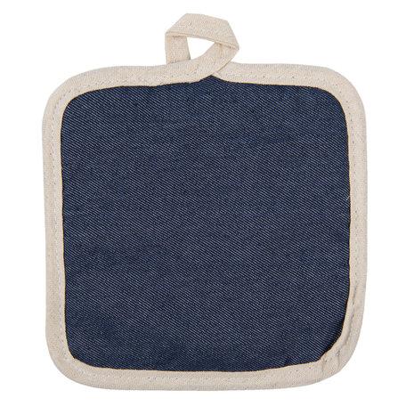 Pannenlap 16*16 cm Blauw | KT045.027 | Clayre & Eef