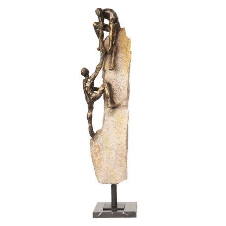 Decoratie figuren 15*12*58 cm Bruin | 5PR0052 | Clayre & Eef