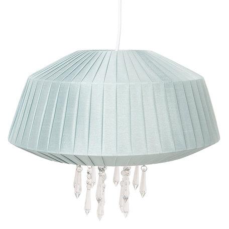 Hanglamp ø 40*33 cm E27/max 1*60W Groen | 6LAK0462LGR | Clayre & Eef