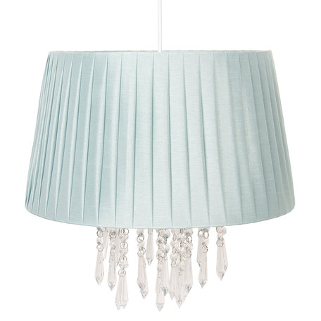 Hanglamp ø 40*38 cm E27/max 1*60W Groen | 6LAK0463LGR | Clayre & Eef