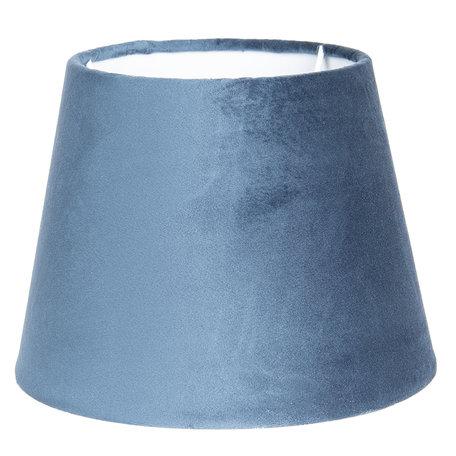 Lampenkap ø 25*18 cm Blauw | 6LAK0459BL | Clayre & Eef