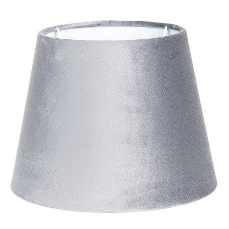 Lampenkap ø 25*18 cm Grijs   6LAK0459CH   Clayre & Eef