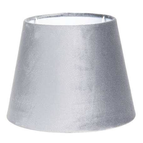 Lampenkap ø 31*22 cm Grijs | 6LAK0460CH | Clayre & Eef
