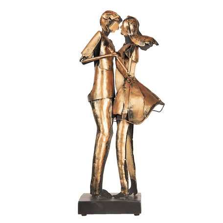 Kunstvoorwerp 28*20*64 cm Bruin | 5ART0007 | Clayre & Eef