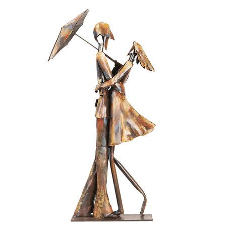 Kunstvoorwerp 25*17*53 cm Meerkleurig | 5ART0015 | Clayre & Eef