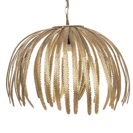 Hanglamp ø 48*38 cm E27/max 1*40W Bruin | 5LMP282 | Clayre & Eef