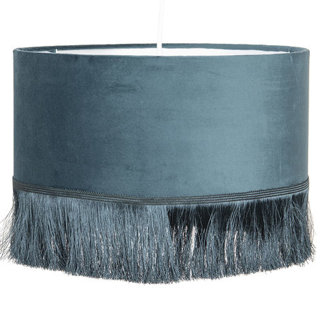 Hanglamp ø 35*25 cm E27/max 1*60W Groen | 6LAK0464GR | Clayre & Eef